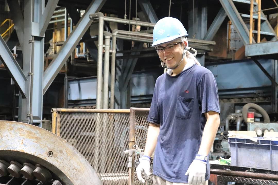 働いている様子|鋳造・製造部|三重県鋳造メーカー求人情報|大洋産業