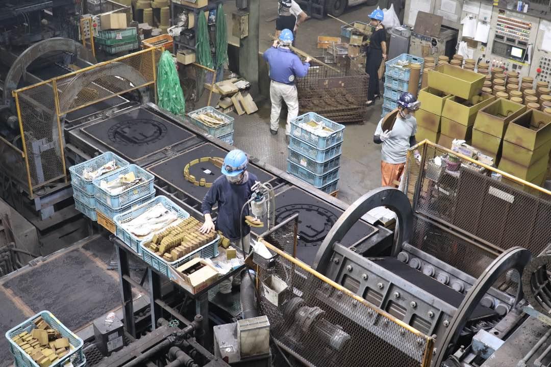 職場の様子|鋳造・製造部|三重県鋳造メーカー求人情報|大洋産業